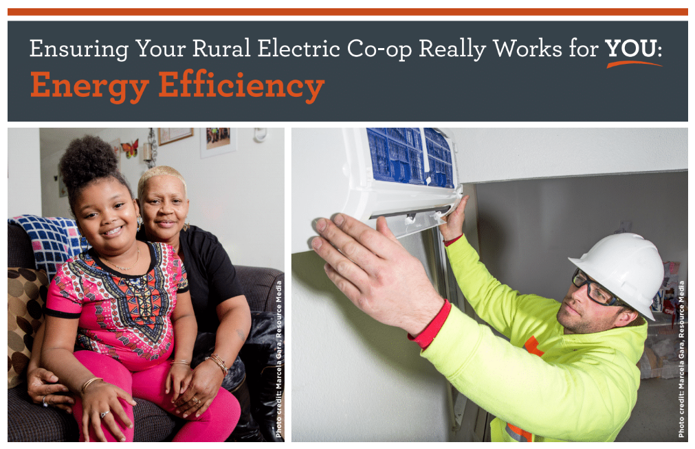happy people with energy efficiency and installation of mini-split heat pump