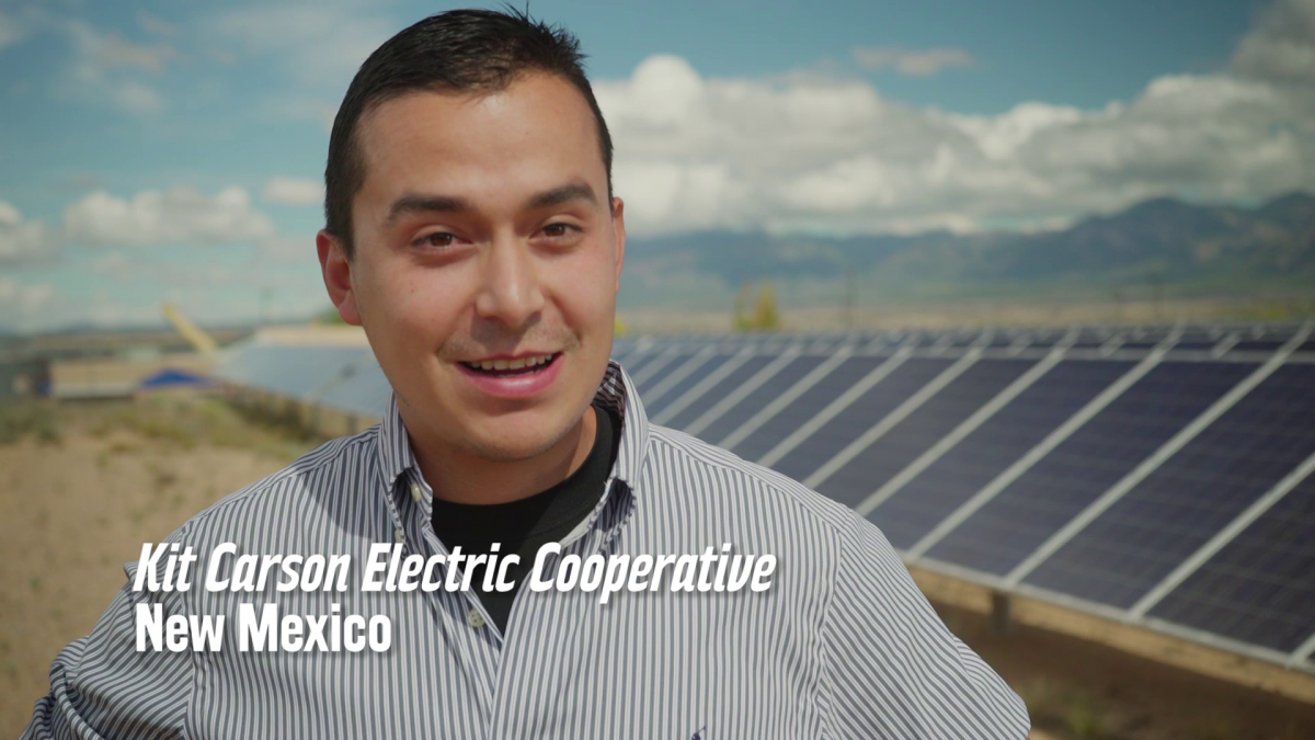 Nationally recognized leader Kit Carson Electric Cooperative in New Mexico