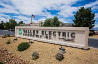 Valley Electric's corporate sign