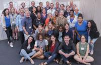 Fellows, trainers and coaches at 2018 training