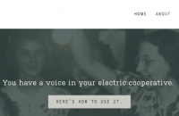 toolkit homepage with old REA image of kids around a lightbulb