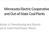 report title image with Minnesota map showing electric co-ops